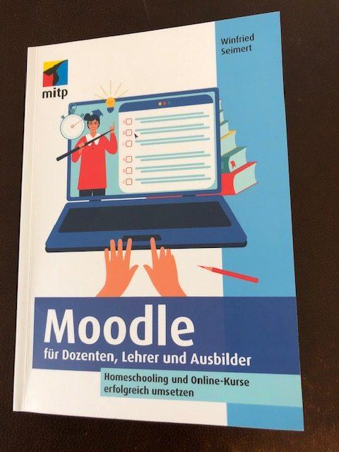 Buchcover: Moodle - für Dozenten, Lehrer und Ausbilder